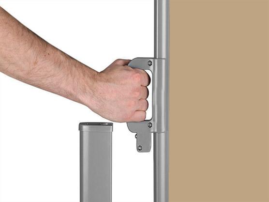 Store latéral paravent extérieur rétractable- côté store